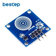 1PCS Capacitive Touch Touch Switch TTP223 TTP223B Jog Digital Touch Sensor Module Accessories for arduino(China)