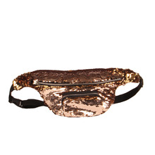New Arrival Women Female Mermaid Sequin Glitter Waist Pack Belt Bum Bag Pouch Hip Purse Ladies Crossbody Bags Popular(China)