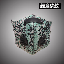 2017new leopard desert digital camo cs military army green fans shooting hunting Ghillie Suits accesores hunting head protector