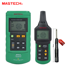 Mastech MS6818 Portable Professional Wire Cable Tracker Metal Pipe Locator Detector Tester Line Tracker Voltage12~400V(China)