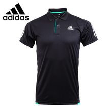 Original New Arrival 2017 Adidas Performance M CLUB 3S POLO Men's POLO shirt short sleeve Sportswear
