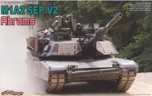 DRAGON 3556 1/35 Scale M1A2 SEP V2 Abrams Plastic Model Building Kit(China)