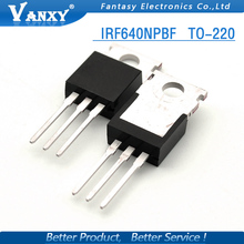 10pcs IRF640NPBF TO220 IRF640N TO-220 IRF640 Power MOSFET new and original free shipping(China)