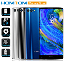 "HOMTOM S9 Plus 5.99"" 18:9 HD+ IPS Mobile Phone 4G Smartphone 4GB+64GB MTK6750T Octa Core Front 13MP Back Dual 5+16MP Cam 4050mAh(China)"