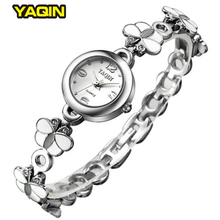 White Butterfly Band Women Bracelet Watches Brand YAQIN Quartz-Watch Minimalist Ladies Japan Movement Montre Relogios Femininos - Splendid Style Watch Store store