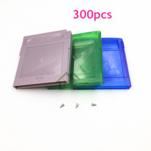 300pcs DHL Free Shipping For Nintendo GB GBC GBA SP Game Cartridge Cover Case Replacement Game Cartridge Shell Housing