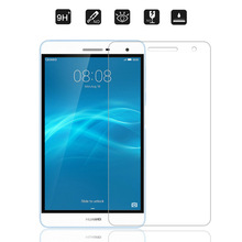 9H Tempered Glass Screen Protector Film For Huawei Honor Mediapad T2 7.0 Pro + Alcohol Cloth + Dust Absorber