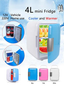 Refrigerators Fridge Heating-Box Travel Freezer Cooling Car-Dual-Use Mini Home 4L Low-Noise
