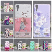 FOR Lenovo A6000 Case Cover, Colorful Painting 3D Back Protector Sleeve FOR Lenovo A6000, FOR Lenovo A6000 A6010 Plus K3 K30-T