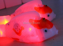 Luminous novelty toy swing light up fish