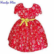 2017 Spring Red Halloween Costumes For Kids Girls Wedding Christmas Evening Princess Dress Girls Frock Designs Kids Dresses