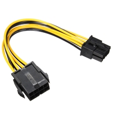 PCI-E 8pin Male to 8 pin Female PCI Express Power Extension Cable for Video Card High Quality