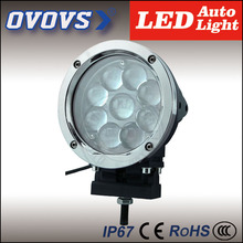 "Wholesale prices 7"" round 45w PC  lens led work light off-road projector 3D spot light for vehicle trucks 4x4"
