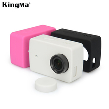 Buy Original KingMa Silicone Case Protective Case Xiaomi Yi 2 II 4K Action Camera Silicone Case Xiaomi YI 4K Accessories for $3.75 in AliExpress store