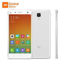 "Xiaomi Mi 4 Mi4 M4 3GB RAM WCDMA Mobile Phone 5.0"" 1920x1080P Screen Snapdragon 801 Quad Core 16GB ROM 13MP Original"