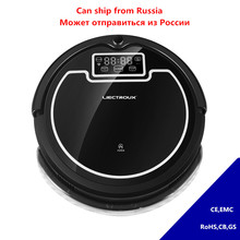 LIECTROUX Robot Vacuum Cleaner Intelligent For Dust Pet Dander Allergens Sterilizing Schedule Cleaning Mopping Remote Controller(China)