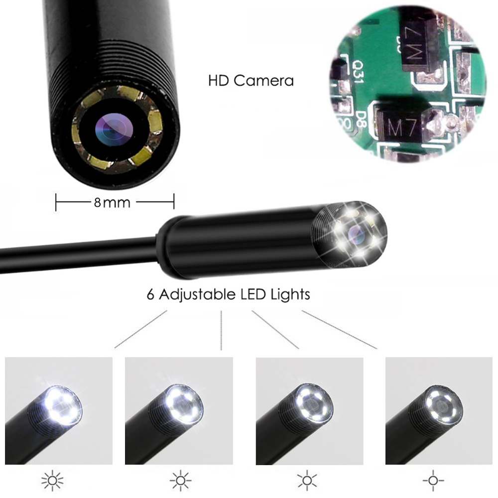 1m-2m-3-5m-5m-8mm-Lens-2-0-Mega-HD-WiFi-Wireless-Warterproof-Endoscope-USB