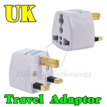 Universal Travel Adapter Portable Wall Socket  EU AU US Brazil Italy Jack to UK AC Power Plug Charger Converter