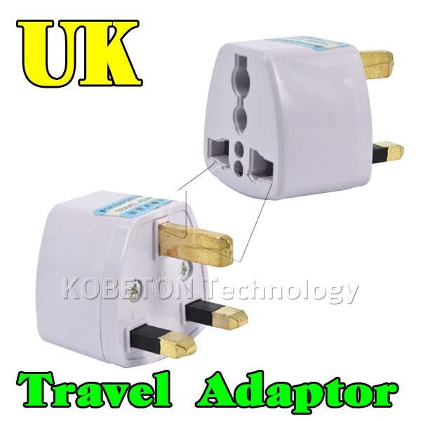 Universal Travel Adapter Portable Wall Socket EU AU US Brazil Italy Jack to UK AC Power Plug Charger Converter(China (Mainland))