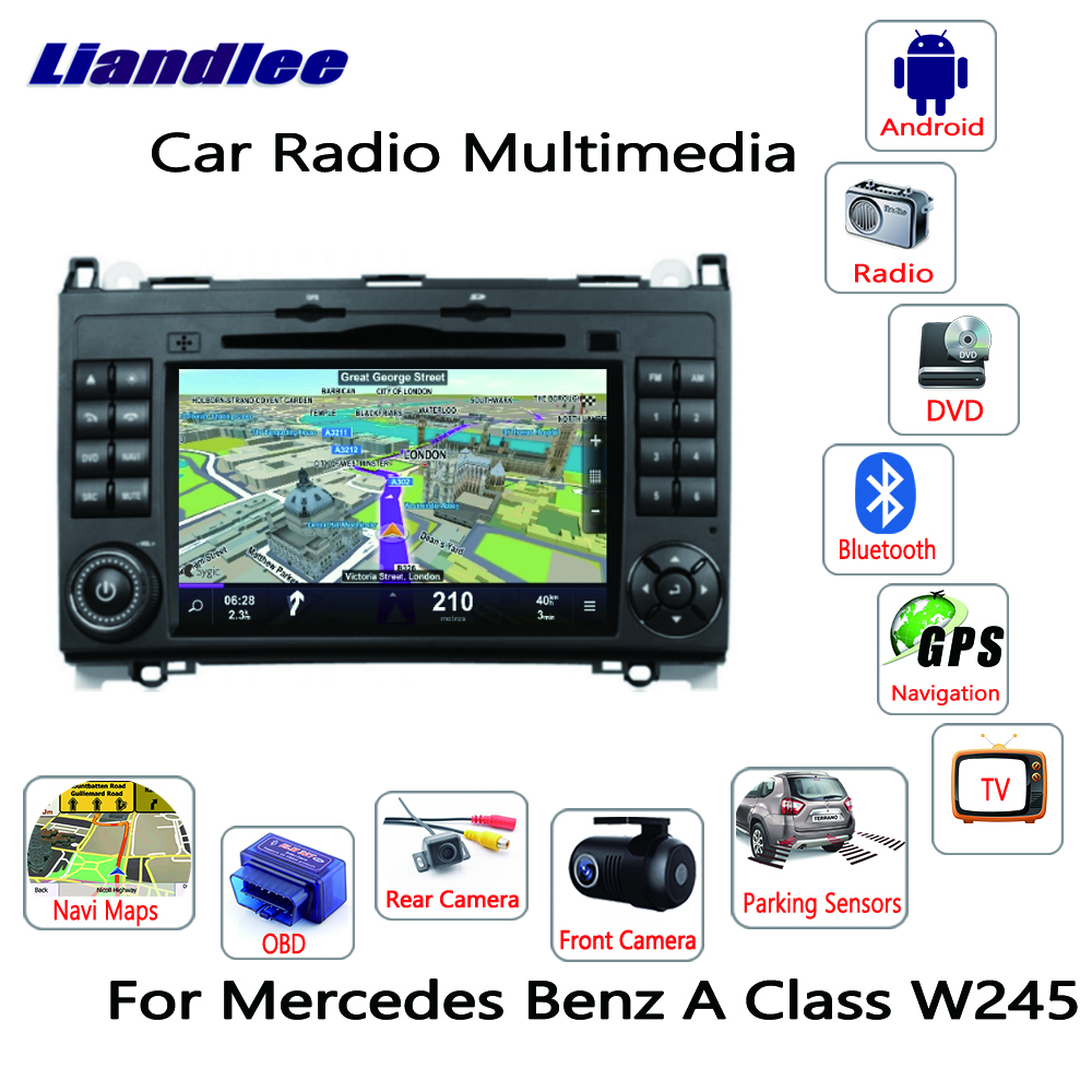 Liandlee For Mercedes Benz B Class W245 2005~2011 Android Car Radio CD DVD Player GPS Navi Navigation Maps Camera OBD TV Screen Multimedia