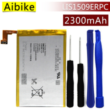Aibike New original mobile phone battery LIS1509ERPC For Sony Xperia SP M35h HSPA LTE C5302 C5303 C5306 Battery 2300mAh Real