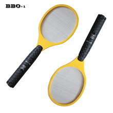 Hot Electric Fly Swatter Bug Zapper Mosquito Zapper Electronic Fly Swatter Mosquito Killer Best for Indoor Outdoor Pest Control(China)