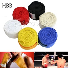 HBB Protect 1Pair Boxing Hand Wraps Boxing Bandages Wrist Protecting Fist Punching High Quality For Boxing Martial Arts & MMA