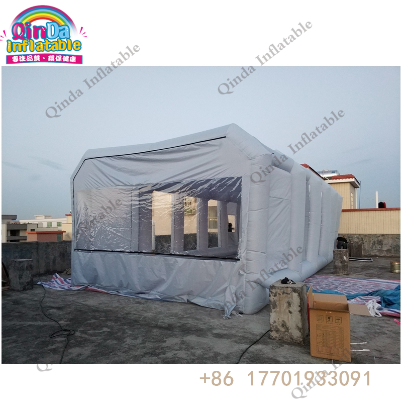 inflatable spray booth70