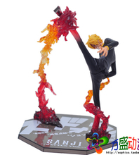 Hot 17cm Sanji One Piece Action Figures Anime PVC brinquedos Collection Figures toys with Retail box Birthday Christmas Gift(China)