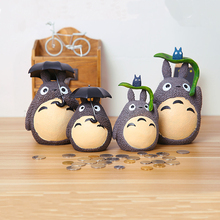 Totoro Piggy Bank Coins Antistress Funny Toys Fun Gas Practical Joke Interesting Toy Useless Box Gadget Board Game Children Gift(China)