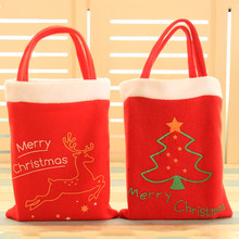 2017 New Christmas tree decoration kids candy bag natal gift new year party gift for children Christmas decorations for home