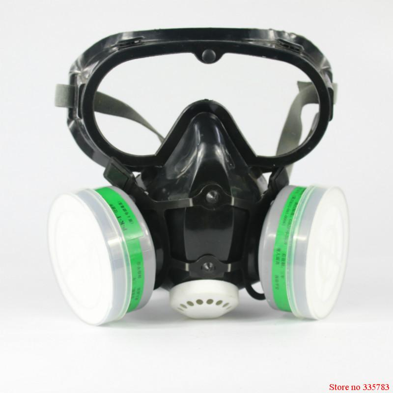 High quality respirator gas mask paint paint spray pesticides spraying mask seguridad en el trabajo carbon filter mask<br>