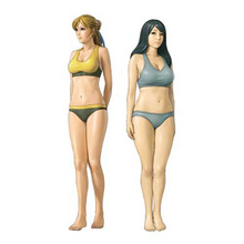 Unpainted Kit 1/35 scale The girl bikini body   1/35  figure Historical WWII Figure Resin  Kit Free Shipping