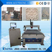 wood cnc router with positioning pop-up pin dust collector vacuum table