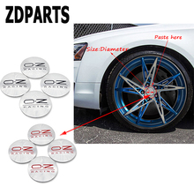 ZDPARTS 4X Car Styling O.Z Tire Wheel Hub Cap Cover Stickers Mercedes Benz W203 W204 211 AMG Smart Starline A93 Citroen C4