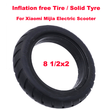 Xiaomi Electric Scooter Tyre Solid Tire Inflation Free 8 1/2x2 Solid Tyre 8.5 Inch Tubeless Tyre for Xiaomi Mijia M365 Scooter