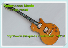 Wholesale and Retail China LP Electric Guitar 1960s Flamed Maple Grains & LP One Piece Neck OK(China)