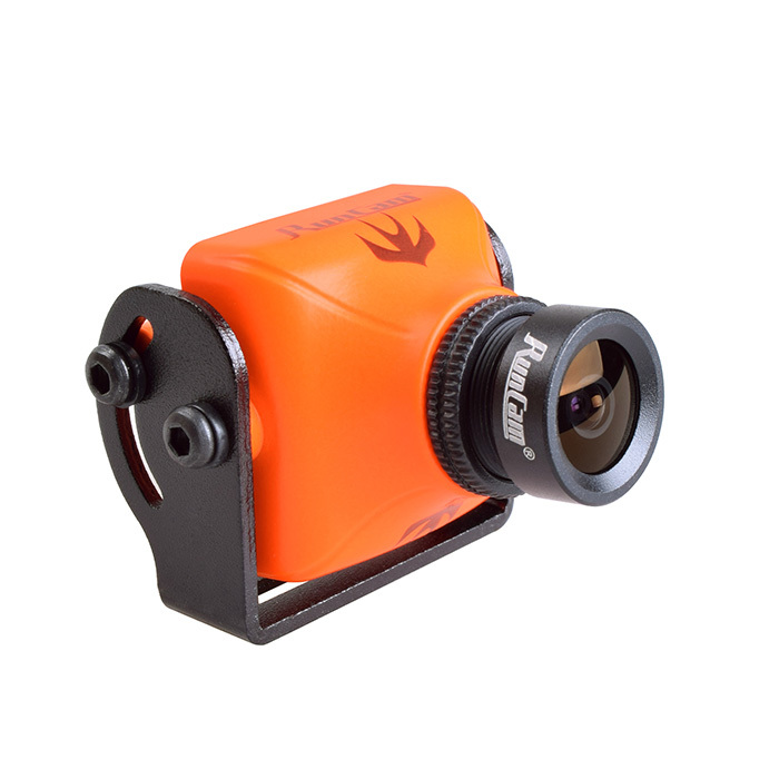 RunCam Swift 2 FPV Camera  Black and Orange FOV130/150/165 Degree 2.5mm/2.3mm/2.1mm PAL model 600TVL for Drone Quadcopter qav250<br>