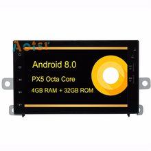 Android 8.0 Car GPS Radio Player head unit for Honda CRV/Jazz fit 1997-2006 with Octa Core 4GB+32GB Auto Stereo Navi Multimedia(China)