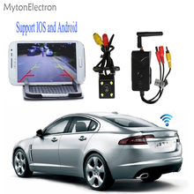 Wide angel backup Rear View Camera + WiFi Transmitter for Car / for IPhone, IPad, Android system / for Surveillance Camera