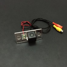 Car Rear View / Back Up / Reverse Camera For Skoda Yeti 2009~2013 / License Plate Light OEM / RCA NTST PAL / Night Vision