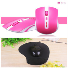 Mini Optical Wireless Mouse 2.4G Reliable 1000DPI Mice Nano USB Receiver Mouse For Computer Laptop Desktop&Mouse Pad