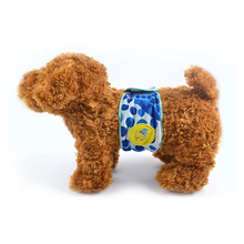 S-XL Random Type Pet Dog 100% cotton Physiological Pants Belly Band Diaper Sanitary Underwear Soft Cozy Reusable Dog Wrap Bands(China)