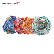 MOMEMO Multiple Styles Metal Fight Beyblade Metal Masters Rapidity Fusion 4D Beyblade Launcher Fangle Spinning Top Boys Game Toy