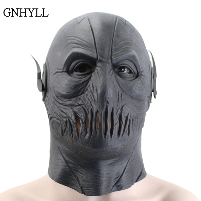 The Flash Zoom Latex Full Head Mask Cosplay Full Head Party Halloween Costume
