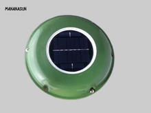 SOLAR VENT FAN AUTOMATIC VENTILATOR for GREEN HOUSE BOAT MOTORHOME RV(China)