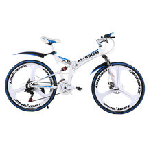 Altruism X6 Folding Bicycle 21 Speed Mountain Bike Aluminum Bikes 26 Inch Bicycles for Boys Mens(China)