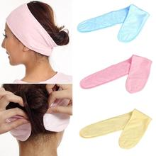 2017 Sale Limited Women Solid Fashion Adult Adjustable Soft Towelling Hair Turban Head Band Velcro Make Up Facial Salon Spa