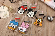 For Iphone 7 Plus Iphone7 6 6S I6 Mickey Mouse Shockproof Soft TPU Case Cartoon Minnie Donald Duck Love me Skin Back Cover 15PCS