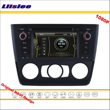 Liislee For BMW E82 1 Series 2004 Coupe Stereo Radio CD DVD Player GPS Navigation 1080P HD Screen System Original NAVI Design(China)